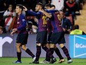 أتلتيكو مدريد ضد برشلونة.. أومتيتي يعود لقائمة البارسا وغياب كوتينيو