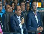 السيسى: مصر بدأت برنامجا للنهوض بالتعليم الأساسى والعالى
