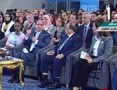 """السيسي مازحا: """"التوك توك عمل مشكلة كبيرة.. والناس مبقتش تتحرك"""".. فيديو"""