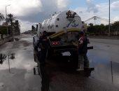 رئيس مدينة العريش يعلن الانتهاء من إزالة آثار الأمطار