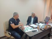 صور.. شوبير يبدأ تطوير موقع اتحاد الكرة بعد عضوية الجبلاية