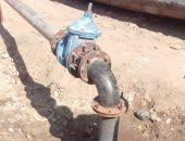 انقطاع مياه الشرب عن وسط الإسكندرية بسبب أعمال تطوير طريق قناة المحمودية