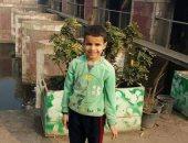 تفاصيل اختطاف عامل لطفل بالغربية وقتله ووضع كتل حديد على جثته.. صور