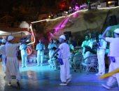 صور.. فرقة بورسعيد والإسماعيلية للفنون الشعبية تحييان ليالى شرم الشيخ
