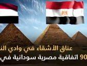 عناق وادي النيل.. 90 اتفاقية مصرية سودانية في 57 عاما