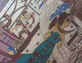 قارئة تشارك بمجموعة بورتريهات فرعونية من أعمالها الفنية