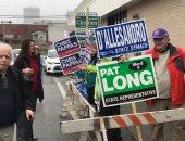 صور.. إقبال على انتخابات الكونجرس.. وتعطل ماكينة تصويت بولاية نيوهامشير