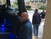 الأهلي يغادر فندق الإقامة لخوض أول مران بتونس استعدادًا للترجي