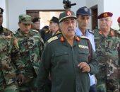 رئيس الأركان الليبى يزور منفذ مساعد ويتابع سير العمل