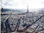 الشمس تزيد مدينة النور بريقاً.. صورة مبهرة لباريس من السماء
