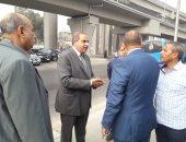 رئيس جامعة الأزهر يجرى جولة للاطمئنان على البوابات وتأمين دخول وخروج الطلاب