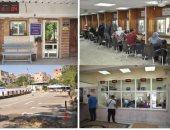 صور.. افتتاح نقطة شرطة عين شمس وأعمال تطوير وحدة مرور عين الصيرة