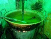 صور.. قبل المولد النبوى.. التموين تضبط مصنع حلوى يستخدم مواد مجهولة