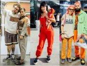 الماتشينج وسنينه.. البرتقالى يسيطر على أزياء Street style فى مهرجان complexcon
