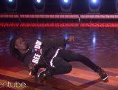 فيديو وصور.. خليفة مايكل جاكسون يذهل الجمهور بحركاته فى The Ellen Show