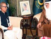 رئيس باكستان: علاقاتنا مع السعودية تنبع من قيم دينية وثقافية مشتركة