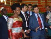 أشرف صبحي يلتقي وزيرة الشباب والرياضة ببورندى