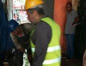 """استجابة لـ""""اليوم السابع"""".. إصلاح مشكلة الصرف الصحى بمحيط الحسين"""