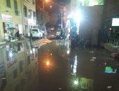 قارئ يستغيث بمحافظة أسوان لغرق شارع صفوت جهلان بمياة الصرف الصحى