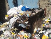 شكوى من تراكم القمامة بعمارات الفردوس فى محافظة أسوان