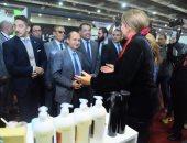 وزير التجارة يفتتح الدورة العاشرة لمعرض ICS للسيراميك والأدوات الصحية