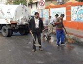 إعلان الطوارئ بين أجهزة الأحياء فى بورسعيد مع بدء موسم الأمطار