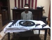 ضبط 208 قطعة سلاح نارى فى حملة للأمن العام