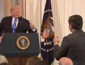 القضاء الأمريكى يوافق على دخول مراسل CNN للبيت الأبيض بعد مشادة مع ترامب