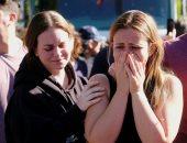 بعد ساعات من المجزرة.. 10 صور ترصد الحزن على أهالى ضحايا هجوم كاليفورنيا