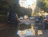 قارئ يرصد سوء حالة الإسفلت المتهالك بشارع مخيمر بالنزهة الجديدة
