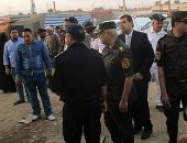 صور.. مدير أمن الأقصر يتابع خطط التأمين بمحيط دير مارجرجس بالرزيقات