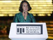 """مصممة النصب التذكارى لـ""""إحياء الإنسانية"""": لأن قلوبنا متحدة سنصبح أكثر سعادة"""