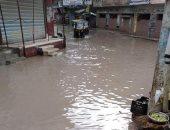 توقف حركة الصيد بكفر الشيخ لهطول الأمطار وارتفاع الأمواج