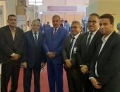 صور.. رئيس جامعة الأزهر يتفقد أجنحة التايكو بمعرض القاهرة الدولى للابتكار