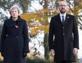 تفاصيل جديدة فى حادث تصادم موكب تيريزا ماى ورئيس وزراء بلجيكا