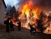 صور.. الحرائق تتجدد وتلتهم الغابات فى ولاية كاليفورنيا الأمريكية