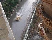 قارئة تشكو من عدم وجود بالوعات لصرف مياه الأمطار بالإسكندرية