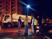 صور.. محافظ البحيرة: طوارئ بالوحدات المحلية لمواجهة مياه الأمطار