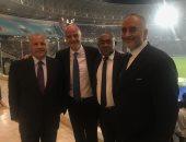 رئيس فيفا يحضر مباراة الأهلى والترجى التونسى فى ملعب رداس