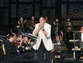 """إيمان البحر درويش لجمهور الاسكندرية:""""وحشتونى وبحبكم أوى"""""""