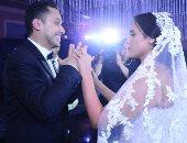صور  .. خالد عجاج يحتفل بزفاف ابنته مريم وسط النجوم