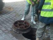 صرف القاهرة: حل مشكلة غمر مياه الصرف بمنشية التحرير فى عين شمس الشرقية