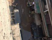 شكوى من غمر مياه الصرف الصحى لشارع اللواء حسن على فى عين شمس الشرقية