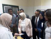 """وزيرة الصحة: مصر كلها تعمل لإنجاح """"100 مليون صحة"""" وتوفير وسائل تنظيم الأسرة"""