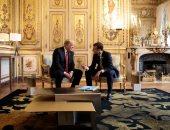 ماكرون وترامب يتفقان على ضرورة استقرار الشرق الأوسط لتأثيره على أسعار النفط