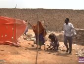 شاهد.. أوضاع إنسانية صعبة تواجه النازحين الصوماليون بالمخيمات بسبب الأمطار