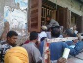 قارئ يطالب المسئولين بزيادة عدد الشبابيك فى مكتب تموين بندر سمالوط