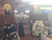 توافد الأباء والكهنة إلى دير دميانة لحضور قداس ذكرى الأربعين للأنبا بيشوى