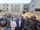 وزيرة الصحة: إنجاز إنشاءات مستشفى بورفؤاد العام بمعدلات غير مسبوقة