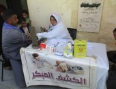 الكشف على 1104 مريض بقافلة صحية بمركز الواسطى شمال بنى سويف